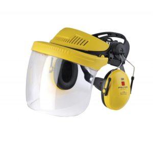 G500V5FH510-GU комплект защитный промышленный (крепление, прозрачный щиток, наушники Optime I)